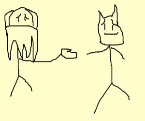 Bane secretly wants to befriend batm.flattered