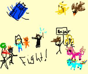battle of the fandoms