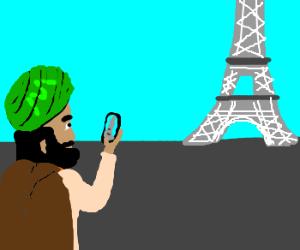 Prophet mohamed is a turist.
