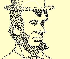 De-molecularized Abe Lincoln...