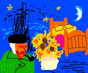 Van Gogh paintings combined