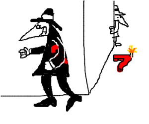 This Spy vs. Spy is sponsored by the number 27