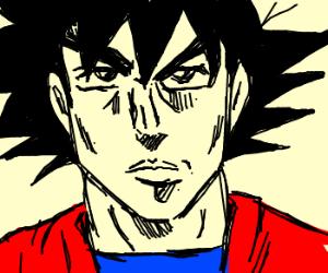 Goku in Jojo's Bizzare Adventure