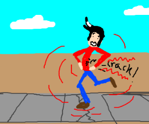 Step on a Crack, Break Your Own Back