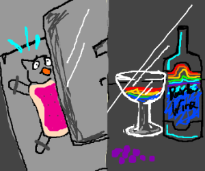 1. Crush Nyan Cat.  2.  Make Rainbow Wine