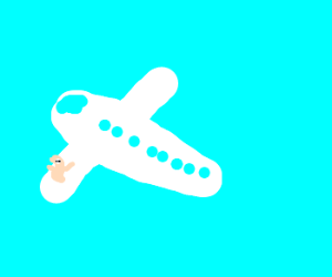 Breadworm on a plane