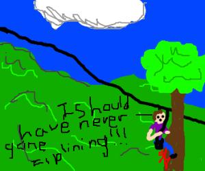 I Should Have Never Gone Ziplining