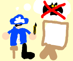 a pirate refuses to draw adam west