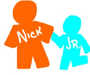Nick Jr Logo Drawing By Mushmo Drawception