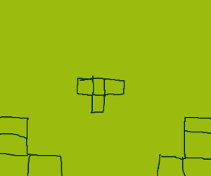 tetris with corners only