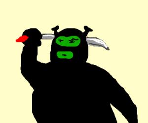 ninja shrek