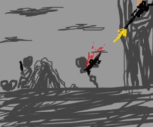 Sniper inbound, take cover!