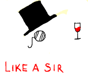 Invisible Man...like a sir!