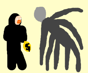 """Robber comes face to """"face"""" with Slenderman"""