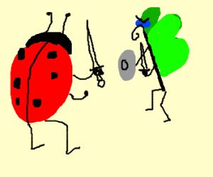 Ladybug VS Butterfly Deathmatch!