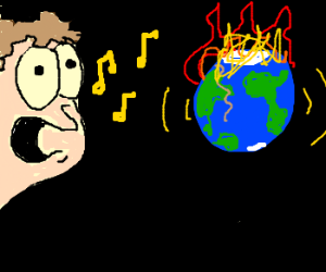 J. Arbuckle sings the song that ends the world
