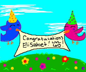 Elisabet's lvl 60 party! Make this awesome! :D