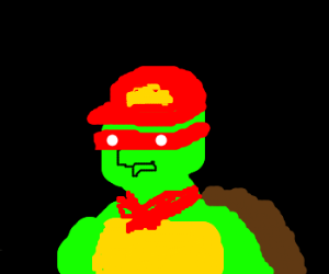 TMNT (guest starring Franklin)