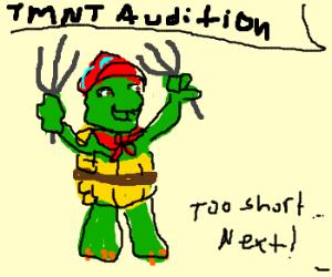 Franklin's TMNT audition