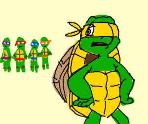 TMNTs' cousin Franklin feels left out.