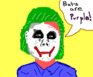 """The Joker just needs some """"pigment therapy."""""""