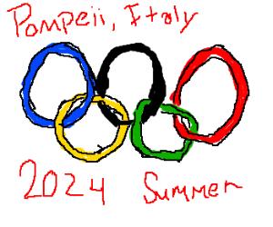 Summer Olympics 2024: Held at Pompeii, Italy