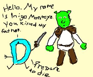 DC is Indigo Montoya. Shrek killed his father.