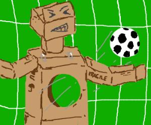 Boxbot Loses the Football Game