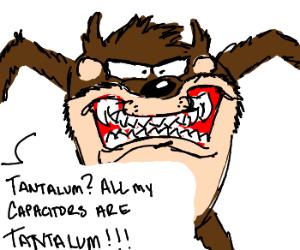 Tasmanian Devil now mascot for Tantalum