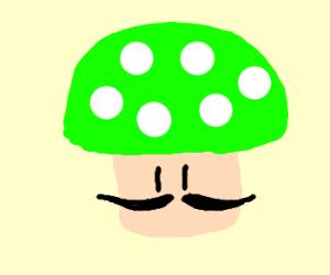 1-UP Mushroom during Movember
