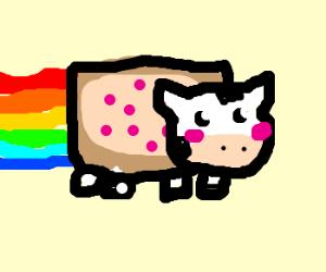Nyan Cow