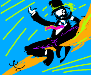 Posh Gentleman using Dragon Kick