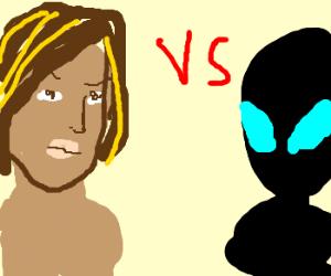 Eve Versus an Alien