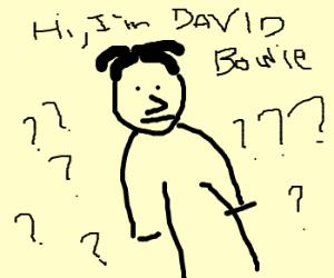 David Bowie Sama Sensei Sempai San Sama