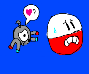 magnemite questions electrode's love