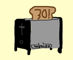 Lv30! Toastalmo is up and coming!