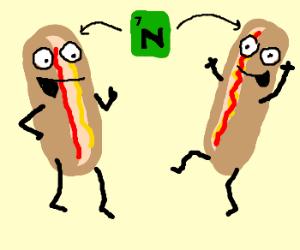 Happy hotdogs are chock full of nitrates! Yay!