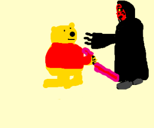 winnie the pooh becomes a sith lord