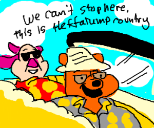 We can't stop here, this is heffalump country