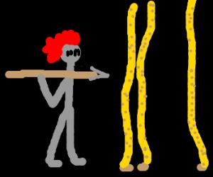 Spartan's Battle Giraffe