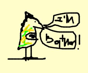 Batman is now a parrot