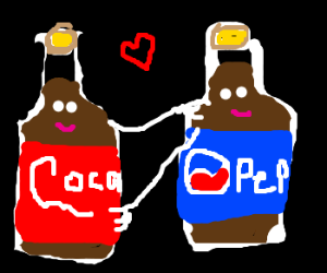 Cola and Pepsi go hand in hand