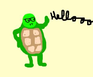 """Mine Turtle says """"Helloooo"""""""