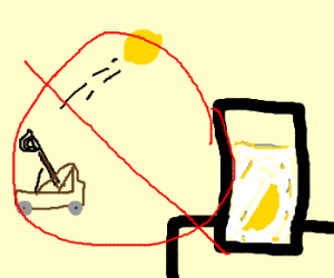 Do not shoot lemons into lemonade