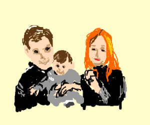 James, Lily, and Harry