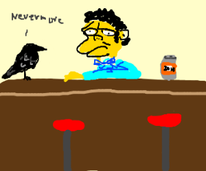 Edgar Allen Moe the Bartender
