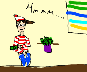 Waldo is thinking about tithe