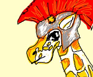 Spartan Battle Giraffe