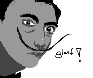 Dalí glarfs.