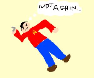 redshirttrekkie notjazzed bout beinbout to die